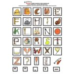 E-Cuts Alphabets (Download and Print)  - Thanksgiving