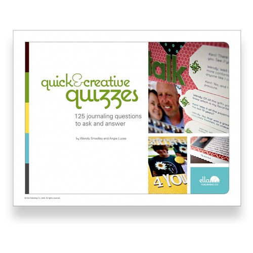 Ella Publishing - Quick and Creative Quizzes by Wendy Smedley and Angie Lucas (E-book)