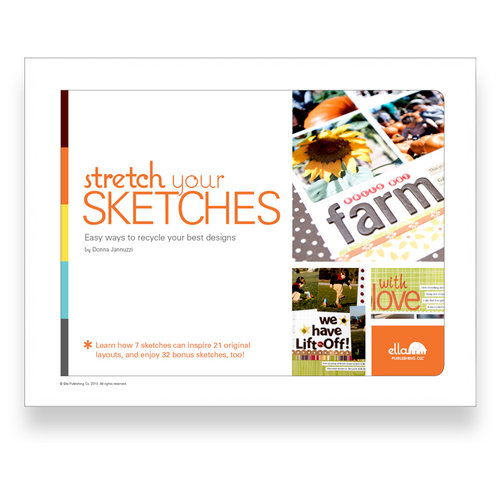 Ella Publishing - Stretch Your Sketches by Donna Jannuzzi (E-book)