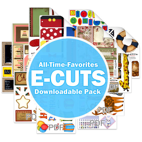 Scrapbook.com - All-Time Favorite E-Cuts Downloadable Pack