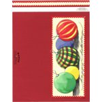 E-Cuts Cards (Download and Print) Christmas Ornaments-Long