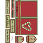 E-Cuts Cards (Download and Print) Christmas Traditions