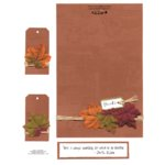 E-Cuts Cards (Download and Print) Fall Thanks