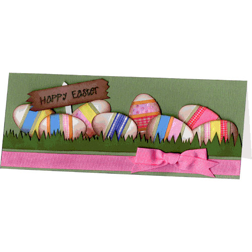 E-Cuts Cards (Download and Print) Happy Easter-long