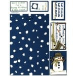 E-Cuts Cards (Download and Print) Unassembled Snowman