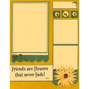 E-Cut Completes (Download and Print) Friends and Flowers