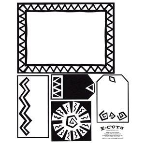 E-Cuts (Download and Print) Aztec Sun