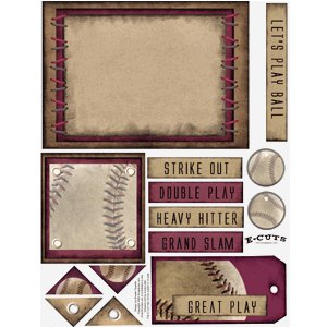 E-Cuts (Download and Print) Baseball - The Game