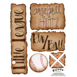 E-Cuts (Download and Print) Baseball is a Hit I