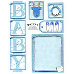 E-Cuts (Download and Print) Baby Boy 1