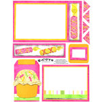 E-Cuts (Download and Print) Birthday Fun-Girl