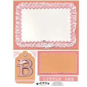 E-Cuts (Download and Print) Bebe Girl 2