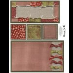 E-Cuts (Download and Print) Christmas Patchwork 2