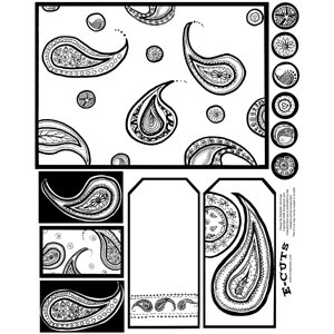 E-Cuts (Download and Print) Doodlebug B&W