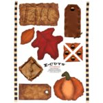 E-Cuts (Download and Print) Fall Cut-Outs