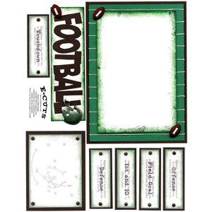 E-Cuts (Download and Print) Football