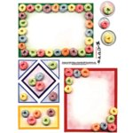 E-Cuts (Download and Print) Cereal Time II: Cereal Loops