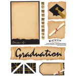 E-Cuts (Download and Print) Graduation