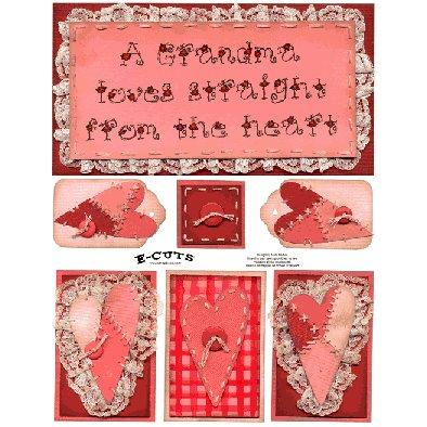 E-Cuts (Download and Print) Grandmas Heart 1