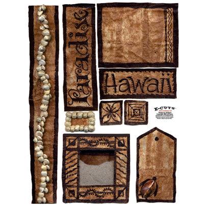 E-Cuts (Download and Print) Hawaii Vacation II