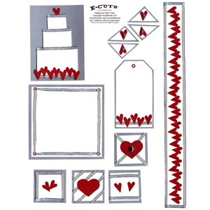 E-Cuts (Download and Print) Heart to Heart