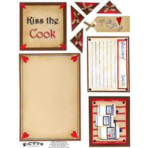 E-Cuts (Download and Print) Kiss The Cook