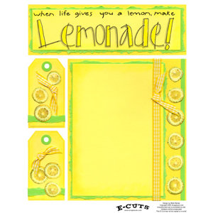 E-Cuts (Download and Print) Lemonade