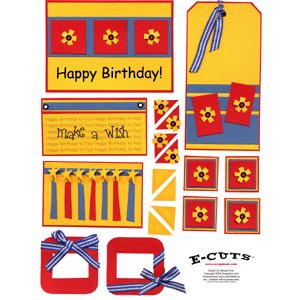 E-Cuts (Download and Print) Make A Birthday Wish