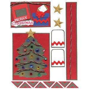 E-Cuts (Download and Print) O, Christmas Tree