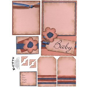 E-Cuts (Download and Print) Precious Baby Girl 1