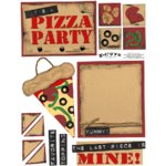 E-Cuts (Download and Print) Pizza Party