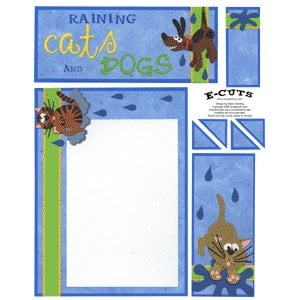 E-Cuts (Download and Print) Raining Cats and Dogs 1