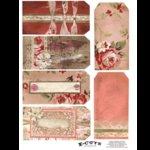 E-Cuts (Download and Print) Romantic Roses 2