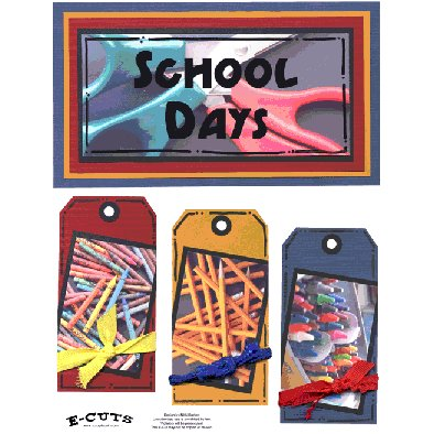 E-Cuts (Download and Print) School Days 1