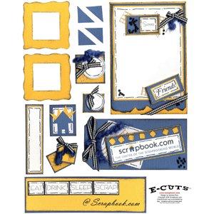 E-Cuts (Download and Print) Scrapbook