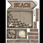E-Cuts (Download and Print) Sand Dollar Beach 1