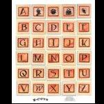 E-Cuts (Download and Print) Sherbet Alphabet