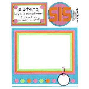 E-Cuts (Download and Print) Sisters Love I