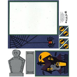 E-Cuts (Download and Print) Spook House