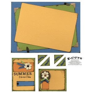 E-Cuts (Download and Print) Summer Memories 2