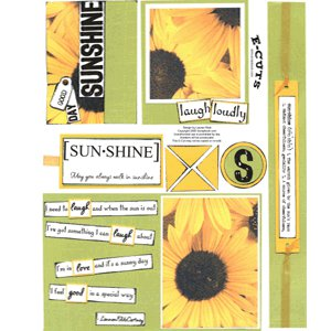 E-Cuts (Download and Print) Good Day Sunshine