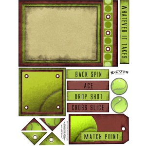 E-Cuts (Download and Print) Tennis - The Game
