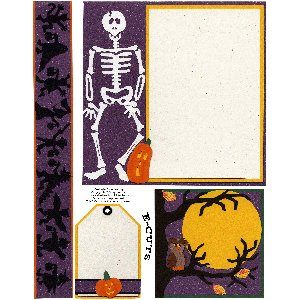 E-Cuts (Download and Print) Trick or Treat 1