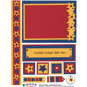E-Cuts (Download and Print) Twinkle Twinkle Little Star