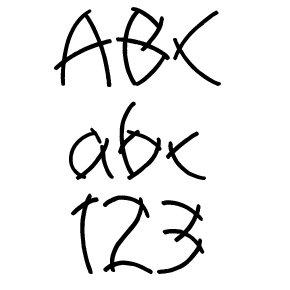 Fonts (Download) SBC Chopsticks
