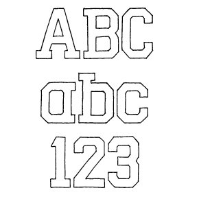 Fonts (Download) SBC College Daz Block