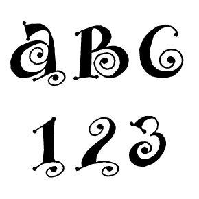 Fonts (Download) SBC Curly