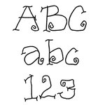 Fonts (Download) SBC Funky Free Thin