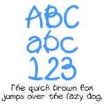 Fonts (Download) SBC Pool Noodle