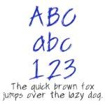 Fonts (Download) SBC Scribble